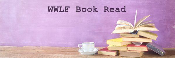 WWLF Book Read header with books and coffee